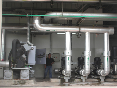 Bảo trì máy làm lạnh nước